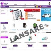 Lansarea magazinului online www.FEO.ro