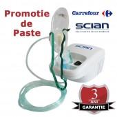 Promotie de Paste aparat de aerosoli cu compresor Scian NB-212C