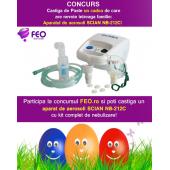 "CONCURS  ""APARAT DE AEROSOLI SCIAN NB212C DE LA IEPURAS SI FEO.RO"""