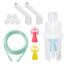 Kit nebulizare Little Doctor Basic, 3 dispensere, particule variabile, pentru aparate de aerosoli cu compresor