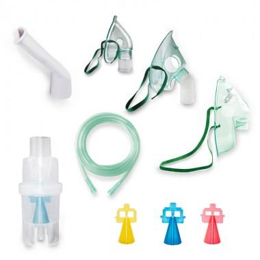 Kit accesorii universale RedLine Combo pentru aparatele de aerosoli cu compresor, dimensiune variabila a particulelor 3.5 - 5 µm