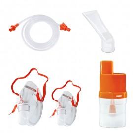 Kit accesorii universale RedLine Orange pentru aparatele de nebulizare cu compresor