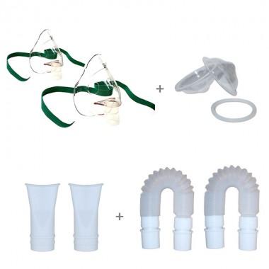 Kit accesorii aparat de aerosoli cu ultrasunete Scian NB-152, NB-150, Little Doctor LD-250U