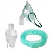 Kit accesorii pentru aparatele de nebulizare cu compresor  RedLine NB-6, cu  furtun 6 m si masca medie rotativa, recomandat pentru copii mici