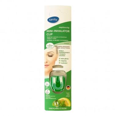 Sanity clip Mini-inhalator cu uleiuri esentiale