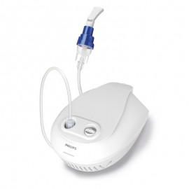 Aparat aerosoli Philips Respironics Home Nebulizer, cu compresor, sistem Active Venturi