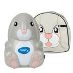 Aparat de aerosoli cu compresor Sanity Baby Inhaler, Suzeta inhalator inclusa, Ideal pentru cadouri