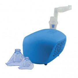 Aparat aerosoli Sanity Domowy AP 2819, nebulizator cu compresor, masca pediatrica si masca adulti, Albastru