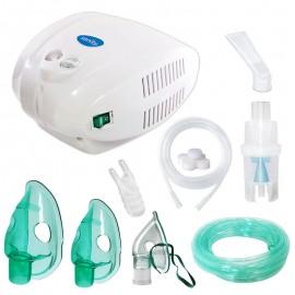 Aparat de aerosoli cu compresor Sanity Alergia Stop Inhaler PRO, MMAD 3 µm, 3 masti (adulti, copii si bebelusi)