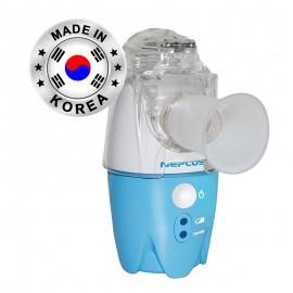 Aparat de aerosoli cu ultrasunete Super Mesh NePlus SM1, Portabil si silentios, Alimentator si acumulator inclus, Husa, Fabricat in Korea
