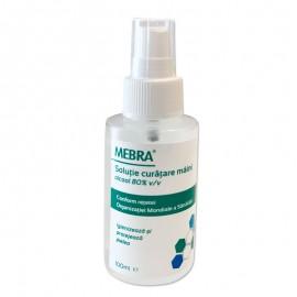 Igienizant maini, contine alcool 80%, peroxid de hidrogen, glicerina si apa, 100ml, cu pompita