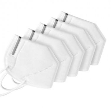 Masca de protectie respiratorie FFP2 KN95, set 5 buc