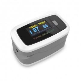 Pulsoximetru Contec CMS50D1, indica nivelul de saturatie a oxigenului din sange, masoara rata pulsului
