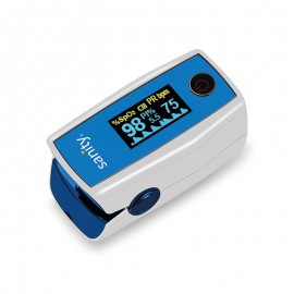 Pulsoximetru Sanity Duo Control,  indica nivelul de saturatie a oxigenului, masoara rata pulsului