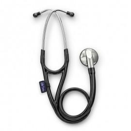 Stetoscop Little Doctor LD Cardio, profesional, 3 seturi de olive auriculare, negru/inox