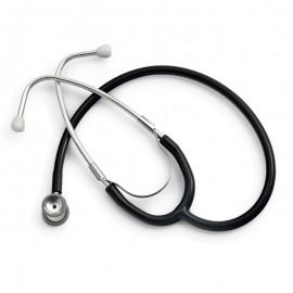 Stetoscop neonatal Little Doctor LD Prof III, stetoscop metalic utilizabil pe ambele parti, diafragma mica, Negru/Inox