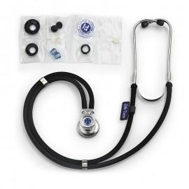 Stetoscop Little Doctor LD Special, 2 tuburi, lungime tub 72cm, Negru/Inox