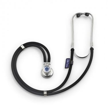 Stetoscop Little Doctor LD Special, 2 tuburi, lungime tub 56cm, Negru/Inox