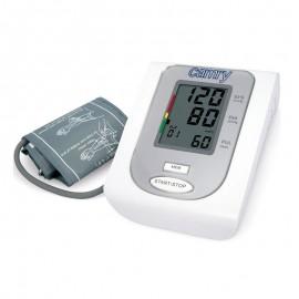 Tensiometru de brat Camry CR 8409, alimentator inclus, Afisaj LCD, Memorare 90 de valori, Detectarea Aritmiei, Clasificare OMS