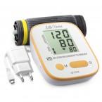 Tensiometru electronic de brat Little Doctor LD-521A,  adaptor inclus, Algoritm IMS, memorare 90 de valori, manseta 22 - 42 cm