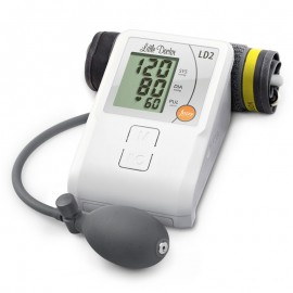 Tensiometru de brat Little Doctor LD2, semiautomat, afisaj LCD, memorare 90 de valori, alb