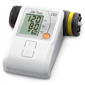 Tensiometru electronic de brat Little Doctor LD 3, Afisaj LCD, Memorare 90 de valori, Alb