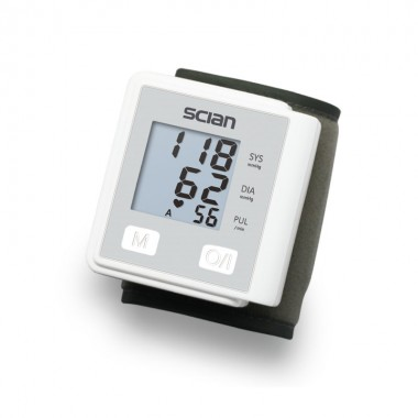 Tensiometru de incheietura Scian LD-733, Memorie 90 de valori, Oprire automata