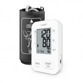 Tensiometru electronic de brat VITAMMY Next 2, mufa USB, detectare aritmie, memorare 2 utilizatori, Alb
