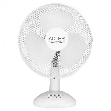 Ventilator Adler AD 7303, 45 W, 30 cm diametru, 3 trepte de viteza, functie de oscilare