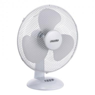 Ventilator Mesko MS 7310, 45 W, 40 cm diametru, 3 trepte de viteza, functie de oscilare