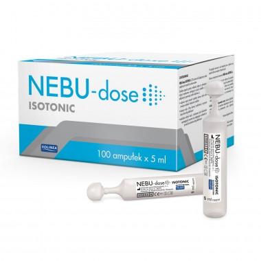 Ser fiziologic izotonic Solinea NEBU-dose concentratie 0.9%, 100 monodoze x 5 ml