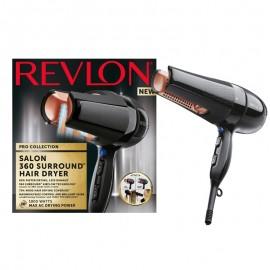 Uscator de par REVLON Salon 360 Surround RVDR5206E, 2 viteze, 3 trepte de temperatura