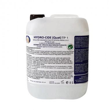 Dezinfectant pentru maini Hydro-Cide (Quat) TP1, 5L