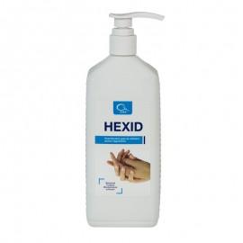 Dezinfectant antiseptic igienic si chirurgical pentru maini si tegumente HEXID 1L cu aviz MS