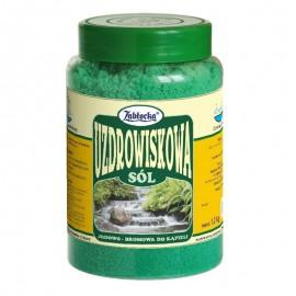Sare termala SPA iodine-bromine Zablocka pentru baie, 1,2 kg