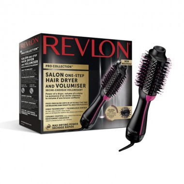 Perie electrica fixa REVLON Pro Collection One-Step Hair Dryer & Volumizer, RVDR5222E, 3 trepte de caldura