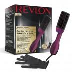 Perie electrica REVLON Pro Collection Smooth & Shine, RVDR5232, cu abur, 3 trepte de temperatura