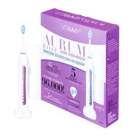 Periuta de dinti electrica VITAMMY Aurum Rose, 96000 vibratii/min, 5 moduri de periaj