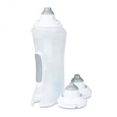 Irigator nazal FLAEM Rhino Clear Ergo Plus compatibil cu aparatele de aerosoli cu compresor, pentru curatarea cailor nazale