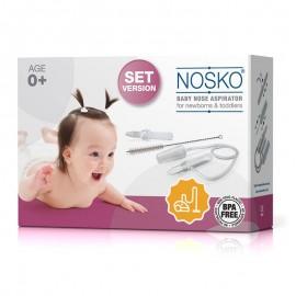 Aspirator nazal Nosko Set pentru bebelusi si copii