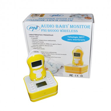 Baby monitor Audio PNI B6000