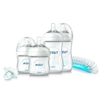 Set biberoane nou nascut Philips Avent Natural SCD290/01