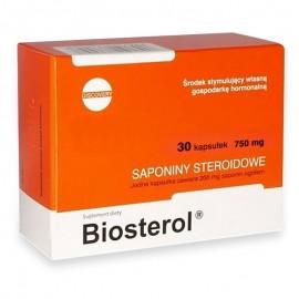 Capsule Megabol Biosterol 750 mg 30 caps, anabolizant puternic, saponine naturale ce cresc nivelul de testosteron liber