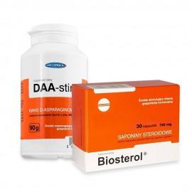 Pachet Megabol DAA-stin 90 g plus Biosterol 30 cps