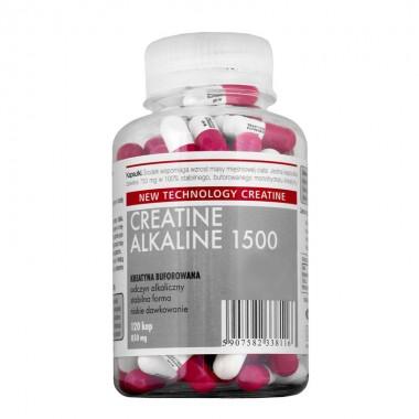 Creatina capsule Megabol CREATINE ALKALINE 1500, 120 cps