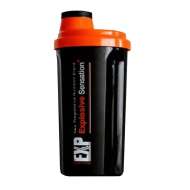 Shaker pentru bauturi proteice Megabol EXP, 700 ml
