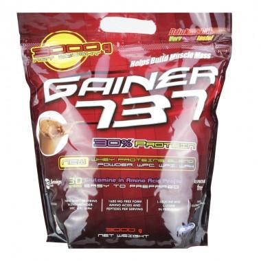 Supliment de proteine, Megabol Gainer 737, 3 kg, gainer pentru crestrea masei musculare