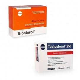 Pachet Megabol Biosterol plus Testosterol, stimulare testosteron si hormon de crestere, inhibare estrogen