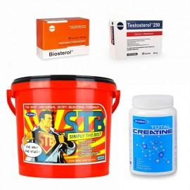 Pachet Megabol Smart, 4 produse, proteine, aminoacizi, carbohidrati, saponine