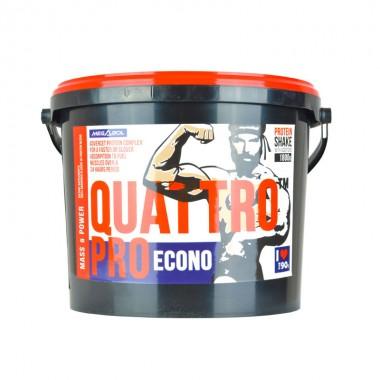 Supliment nutritiv pentru crestrea masei musculare Megabol Quattro Pro 1800g